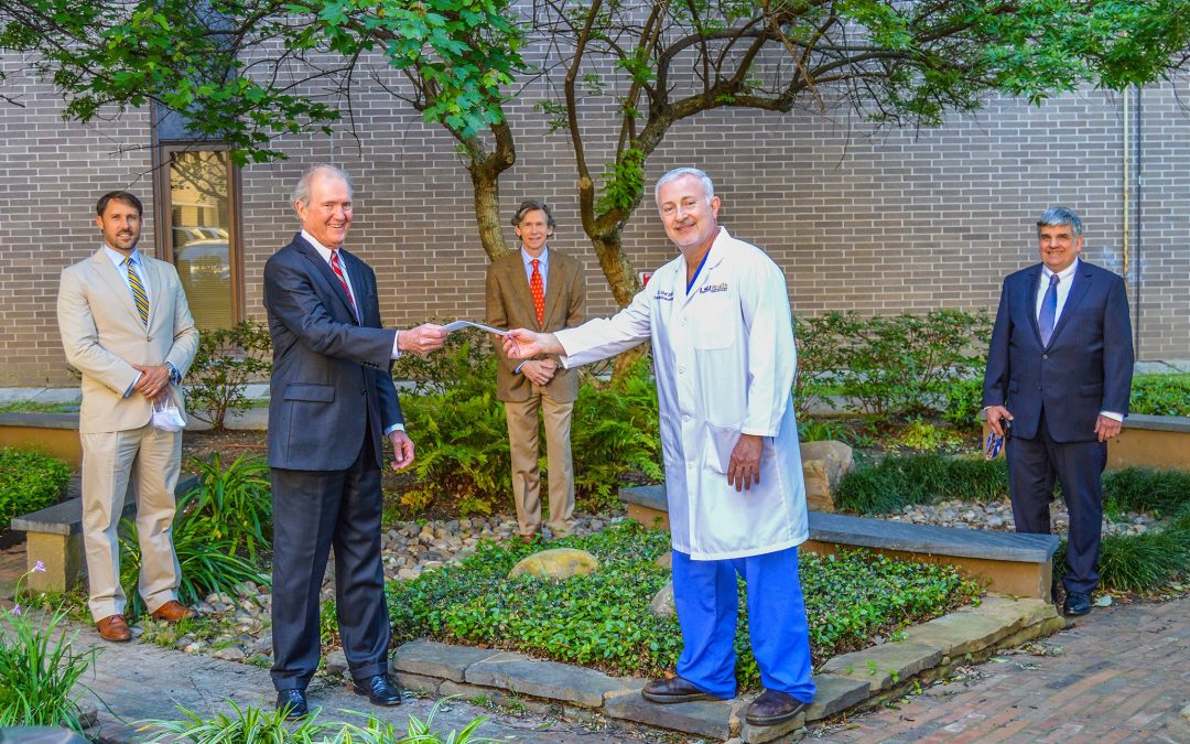 U.L. Coleman Supports LSUHSC, First Responders
